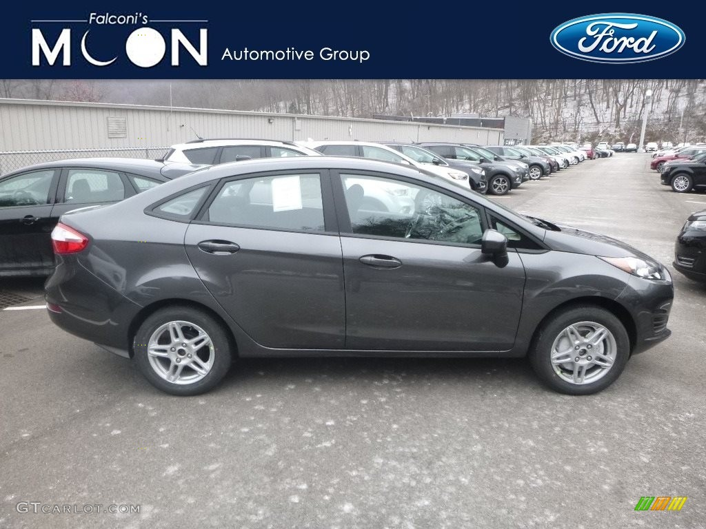 Magnetic Ford Fiesta