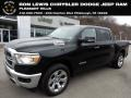 2019 Black Forest Green Pearl Ram 1500 Big Horn Crew Cab 4x4 #130841569