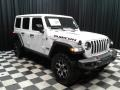 Front 3/4 View of 2019 Wrangler Unlimited Rubicon 4x4