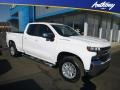 Summit White 2019 Chevrolet Silverado 1500 LT Double Cab 4WD