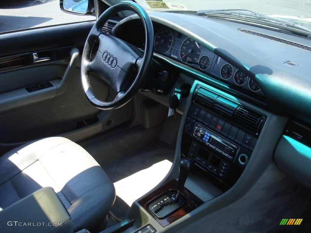 1995 Brilliant Black Audi A6 2.8 quattro Sedan #13066612 Photo #16 ...