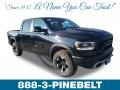 Diamond Black Crystal Pearl 2019 Ram 1500 Rebel Crew Cab 4x4