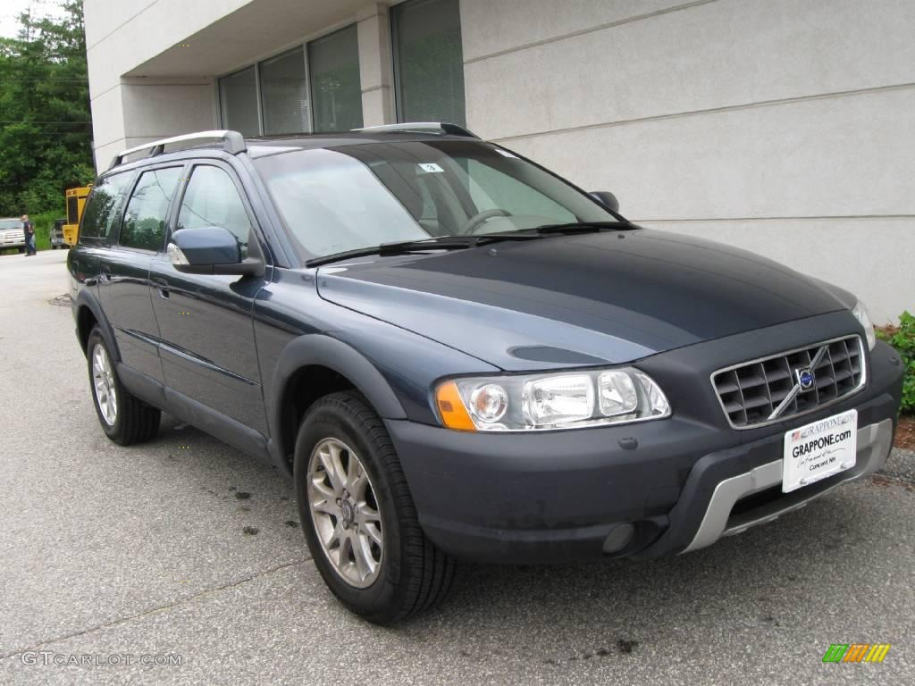 2007 barents blue metallic volvo xc70 awd cross country 13085057 car color. Black Bedroom Furniture Sets. Home Design Ideas