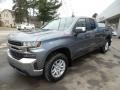 Front 3/4 View of 2019 Silverado 1500 LT Double Cab 4WD