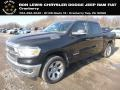 2019 Black Forest Green Pearl Ram 1500 Big Horn Crew Cab 4x4 #130918175