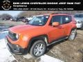 2018 Omaha Orange Jeep Renegade Latitude 4x4 #130918139