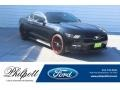 2015 Black Ford Mustang EcoBoost Coupe #130952736