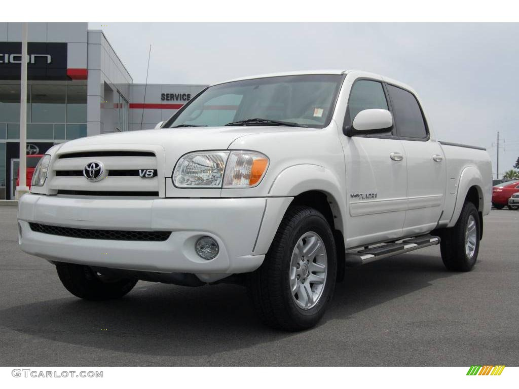 2005 natural white toyota tundra limited double cab 13085031 car color galleries. Black Bedroom Furniture Sets. Home Design Ideas