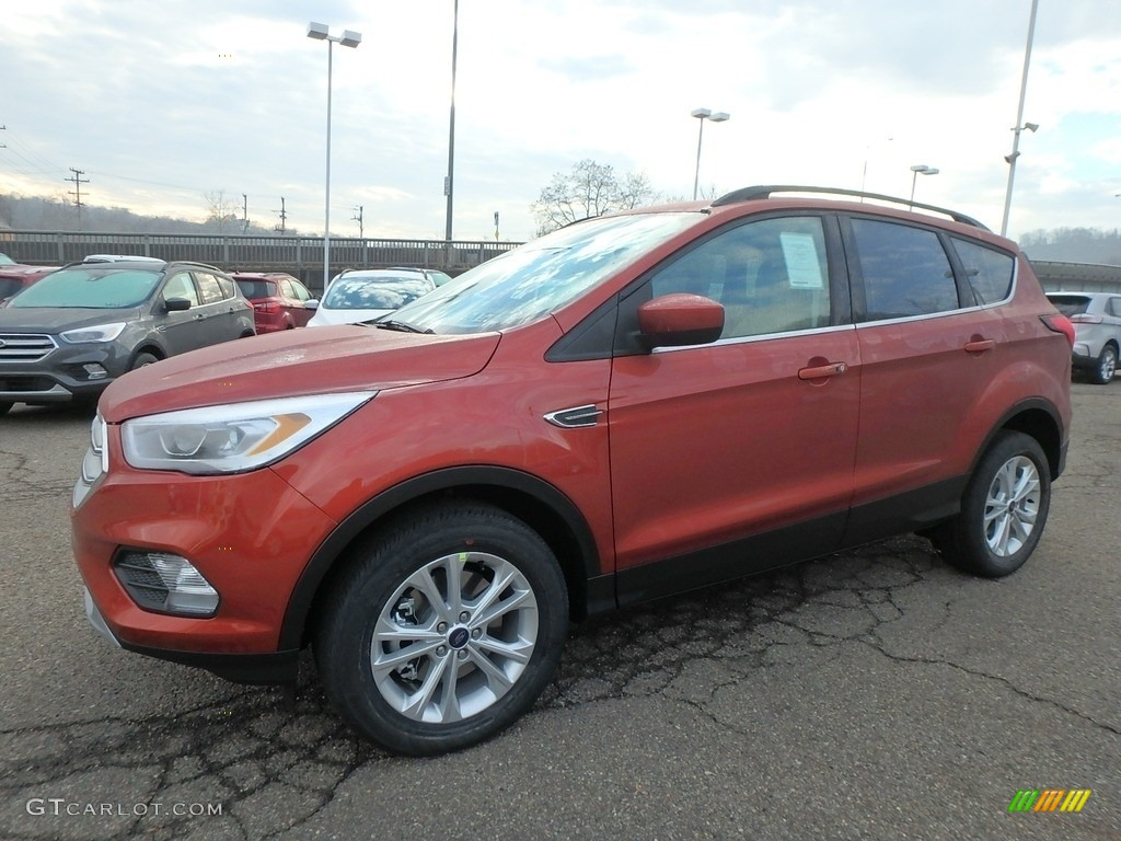 2019 Escape SEL 4WD - Sedona Orange / Medium Light Stone photo #7
