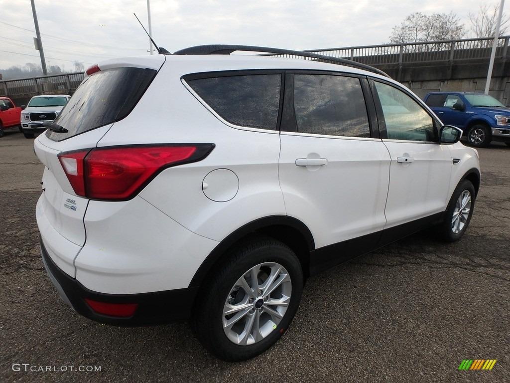 2019 Escape SEL 4WD - White Platinum / Chromite Gray/Charcoal Black photo #2