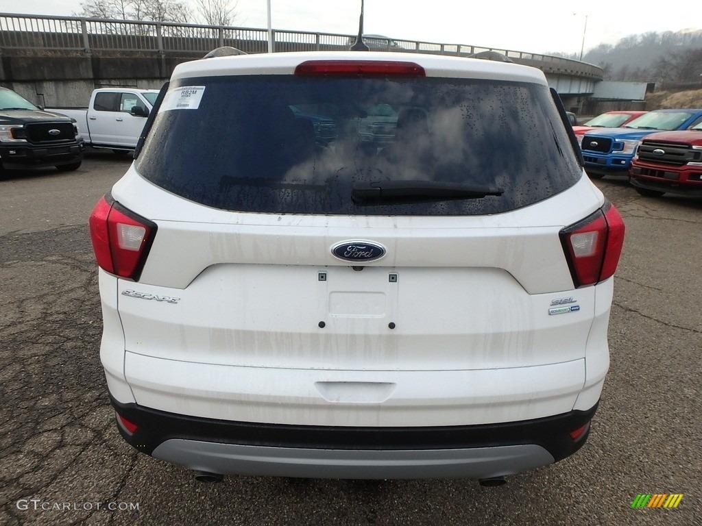 2019 Escape SEL 4WD - White Platinum / Chromite Gray/Charcoal Black photo #3