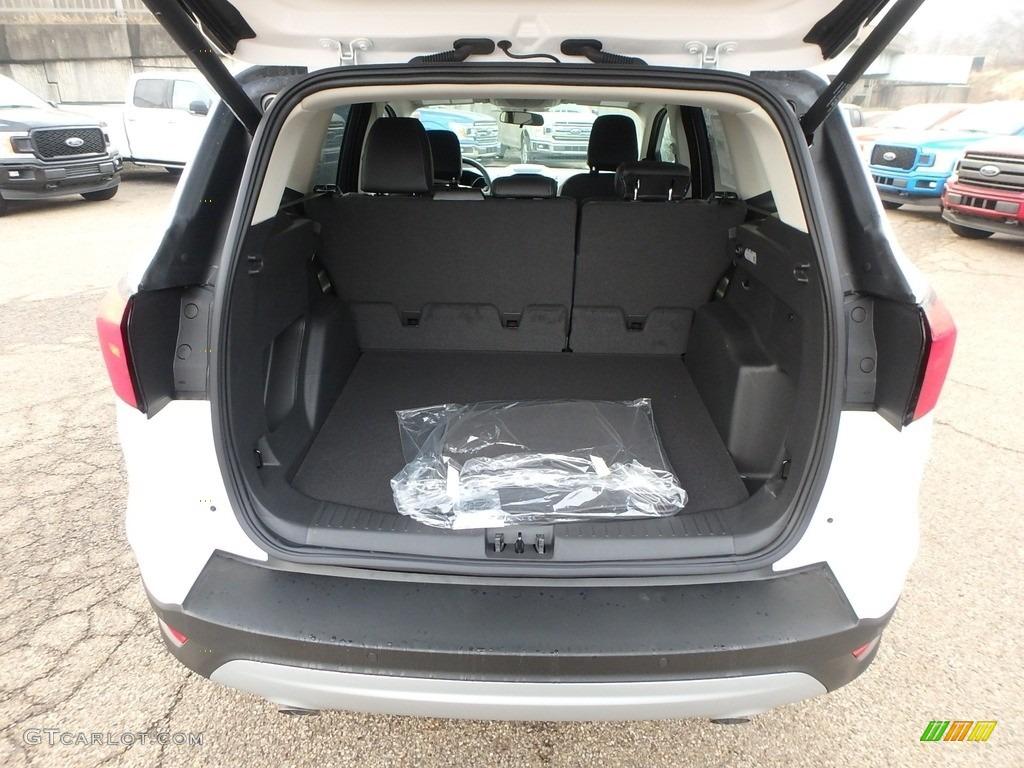 2019 Escape SEL 4WD - White Platinum / Chromite Gray/Charcoal Black photo #4