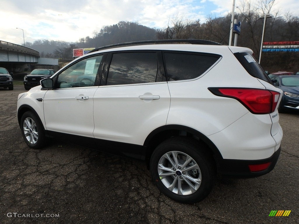 2019 Escape SEL 4WD - White Platinum / Chromite Gray/Charcoal Black photo #5