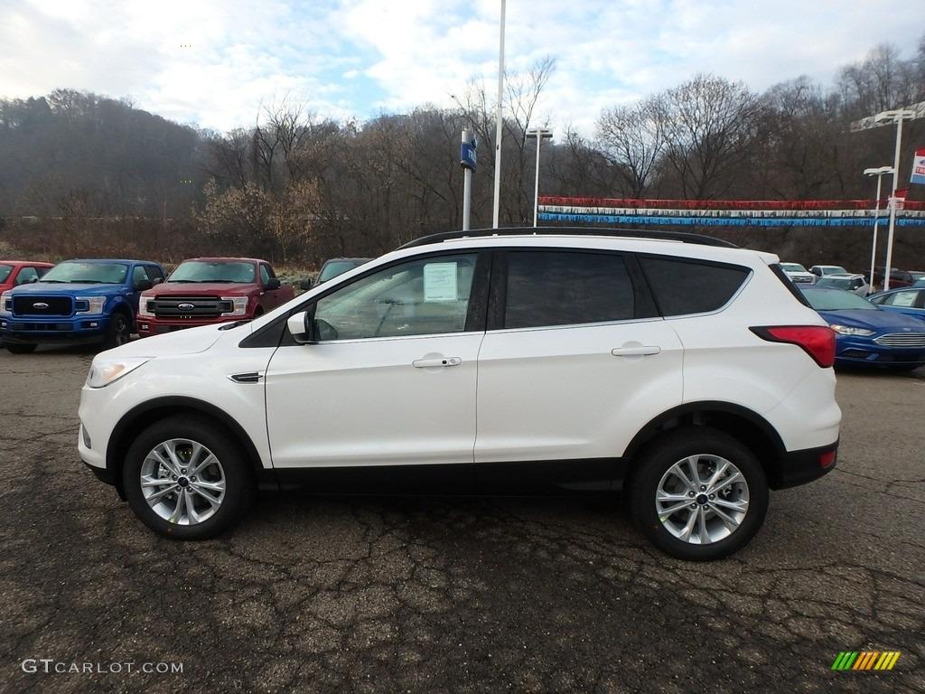 2019 Escape SEL 4WD - White Platinum / Chromite Gray/Charcoal Black photo #6