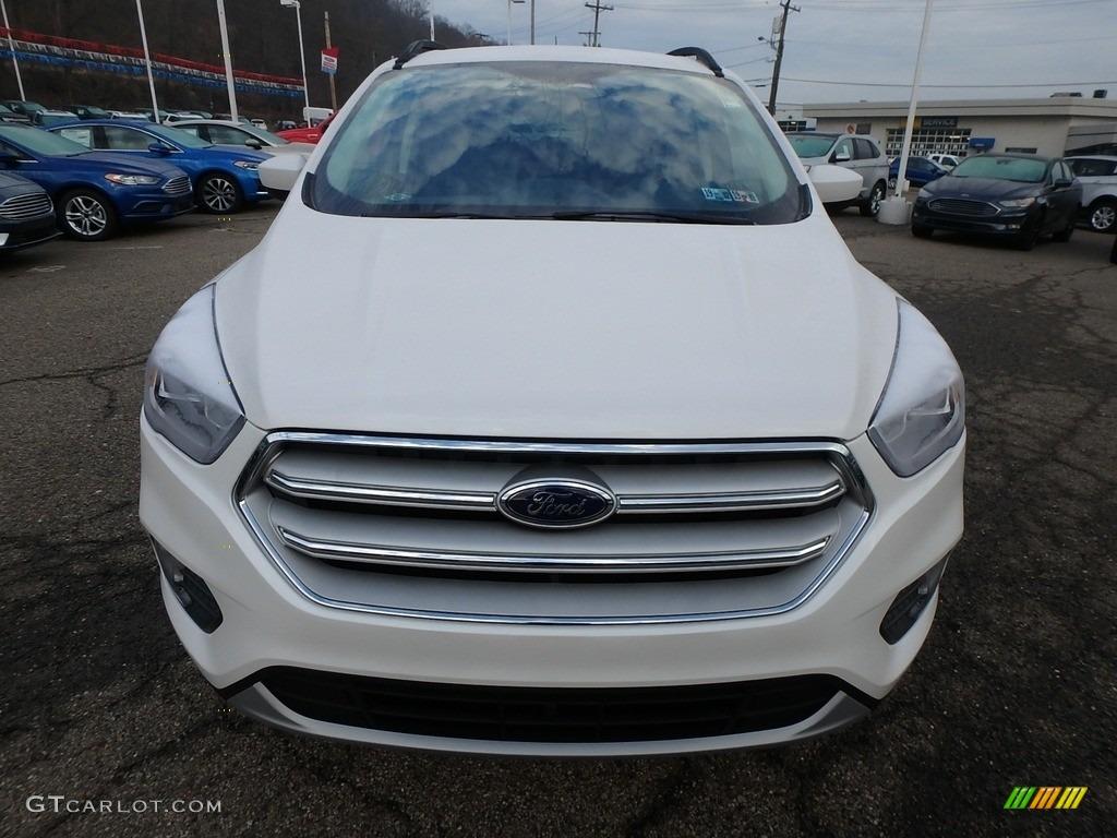 2019 Escape SEL 4WD - White Platinum / Chromite Gray/Charcoal Black photo #8