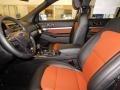 Medium Black/Desert Copper Interior Photo for 2019 Ford Explorer #130958343