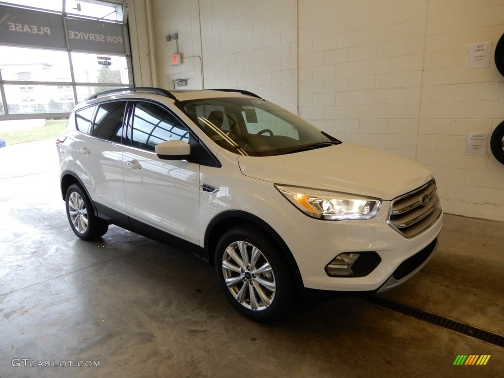 2019 Escape SEL 4WD - Oxford White / Chromite Gray/Charcoal Black photo #1