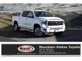 2019 Super White Toyota Tundra Platinum CrewMax 4x4 #130952517
