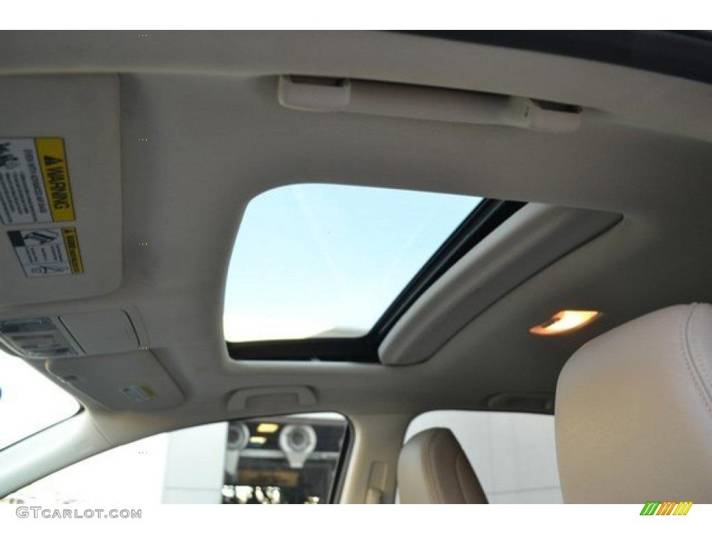2013 CR-V EX-L AWD - Twilight Blue Metallic / Beige photo #10
