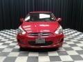Boston Red - Accent SE Sedan Photo No. 3