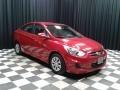 Boston Red - Accent SE Sedan Photo No. 4