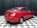 Boston Red - Accent SE Sedan Photo No. 6