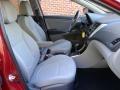 Boston Red - Accent SE Sedan Photo No. 14