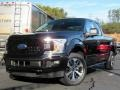 Agate Black 2019 Ford F150 STX SuperCab 4x4