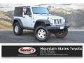 2009 Bright Silver Metallic Jeep Wrangler X 4x4 #131027280