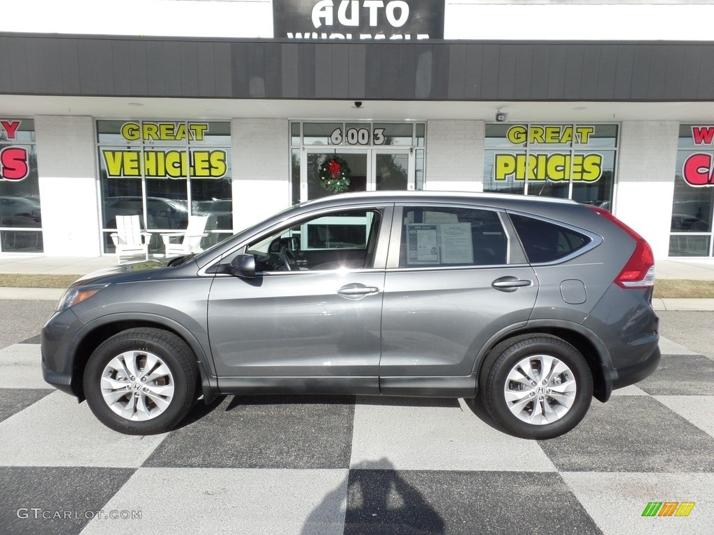 2014 CR-V EX-L - Urban Titanium Metallic / Gray photo #1