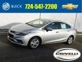 Silver Ice Metallic 2018 Chevrolet Cruze LT