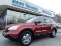 2007 Tango Red Pearl Honda CR-V LX 4WD  photo #1