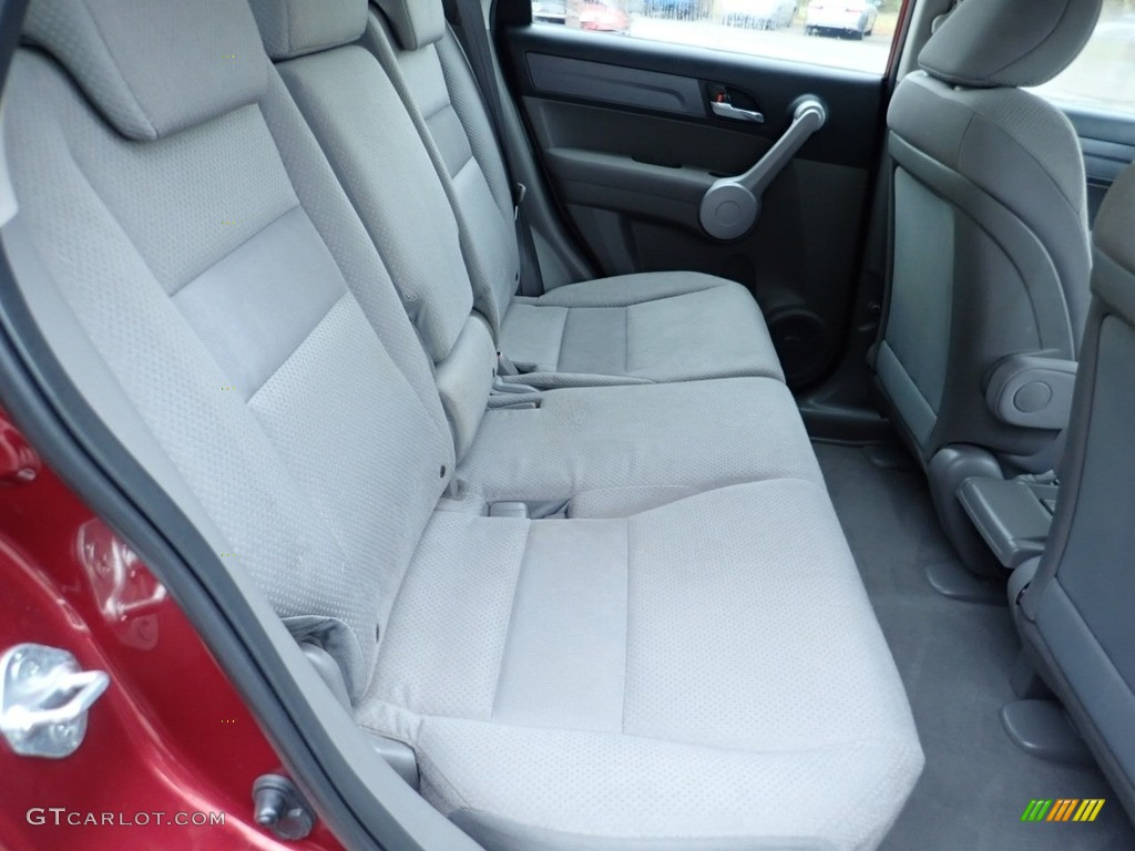 2007 CR-V LX 4WD - Tango Red Pearl / Black photo #14
