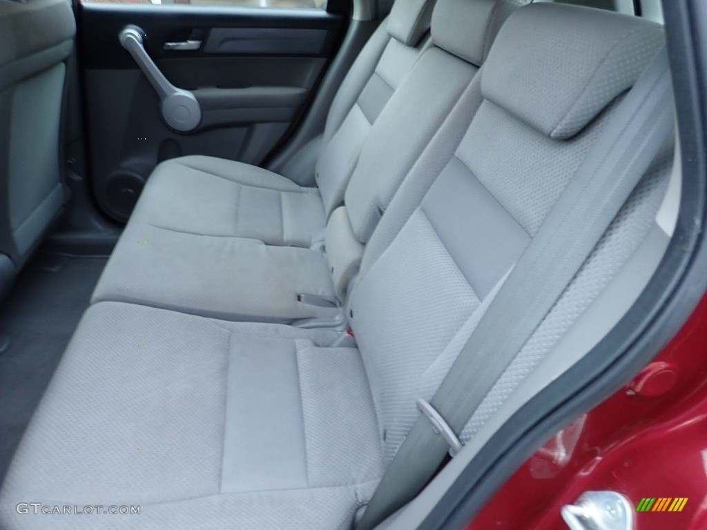 2007 CR-V LX 4WD - Tango Red Pearl / Black photo #16
