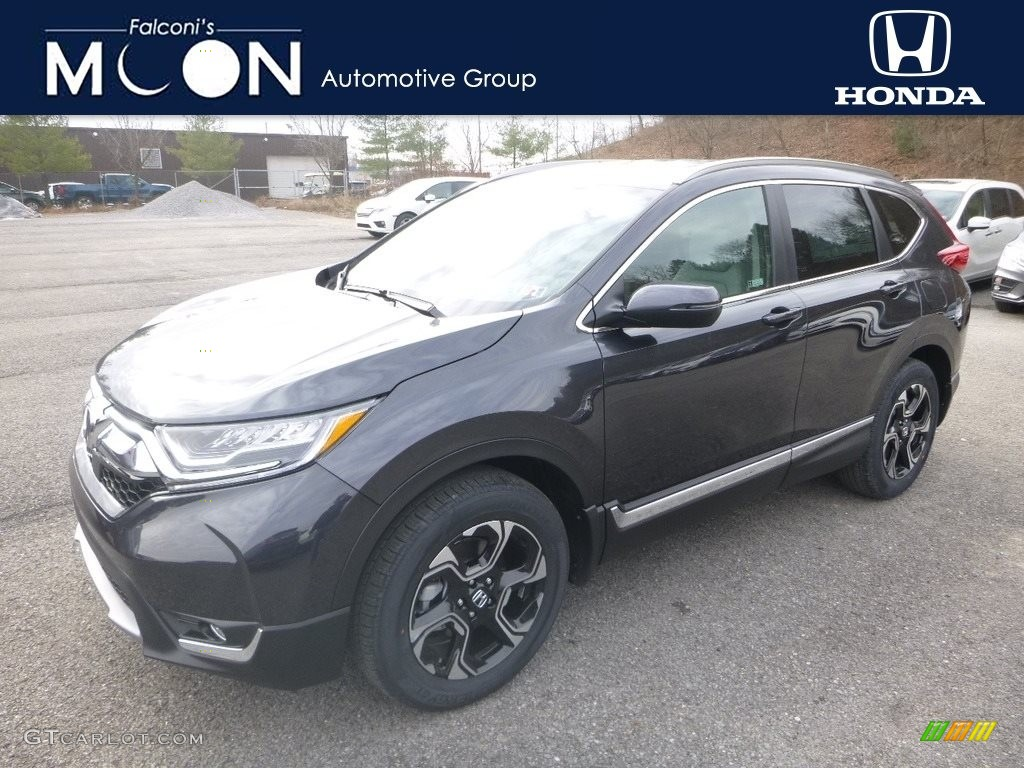 2019 CR-V Touring AWD - Gunmetal Metallic / Gray photo #1