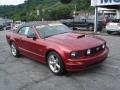 2007 Redfire Metallic Ford Mustang GT Premium Convertible  photo #16