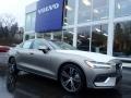 Pebble Gray Metallic 2019 Volvo S60 T6 Inscription AWD