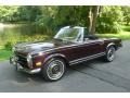 Dark Red 1970 Mercedes-Benz SL Class 280 SL Roadster
