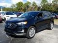 Agate Black 2019 Ford Edge Titanium