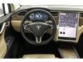Dashboard of 2017 Model X 75D