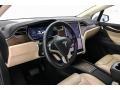 Dashboard of 2017 Model X 75D