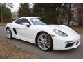 White 2019 Porsche 718 Cayman