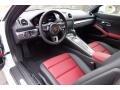 2019 718 Cayman  Black/Bordeaux Red Interior