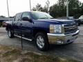 2013 Blue Topaz Metallic Chevrolet Silverado 1500 LT Crew Cab 4x4  photo #7