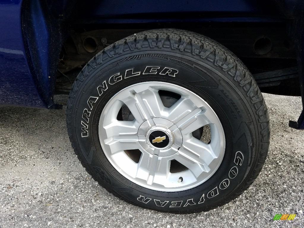 2013 Silverado 1500 LT Crew Cab 4x4 - Blue Topaz Metallic / Ebony photo #20