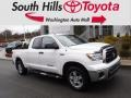 2011 Super White Toyota Tundra SR5 Double Cab 4x4  photo #1