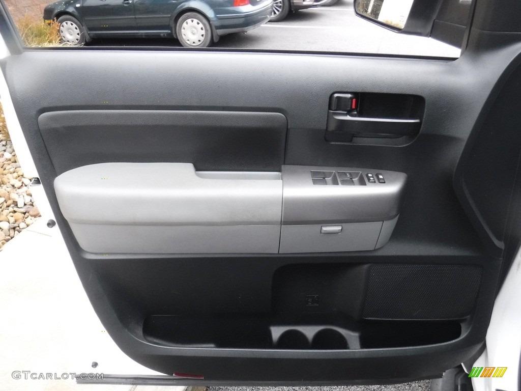 2011 Tundra SR5 Double Cab 4x4 - Super White / Graphite Gray photo #16