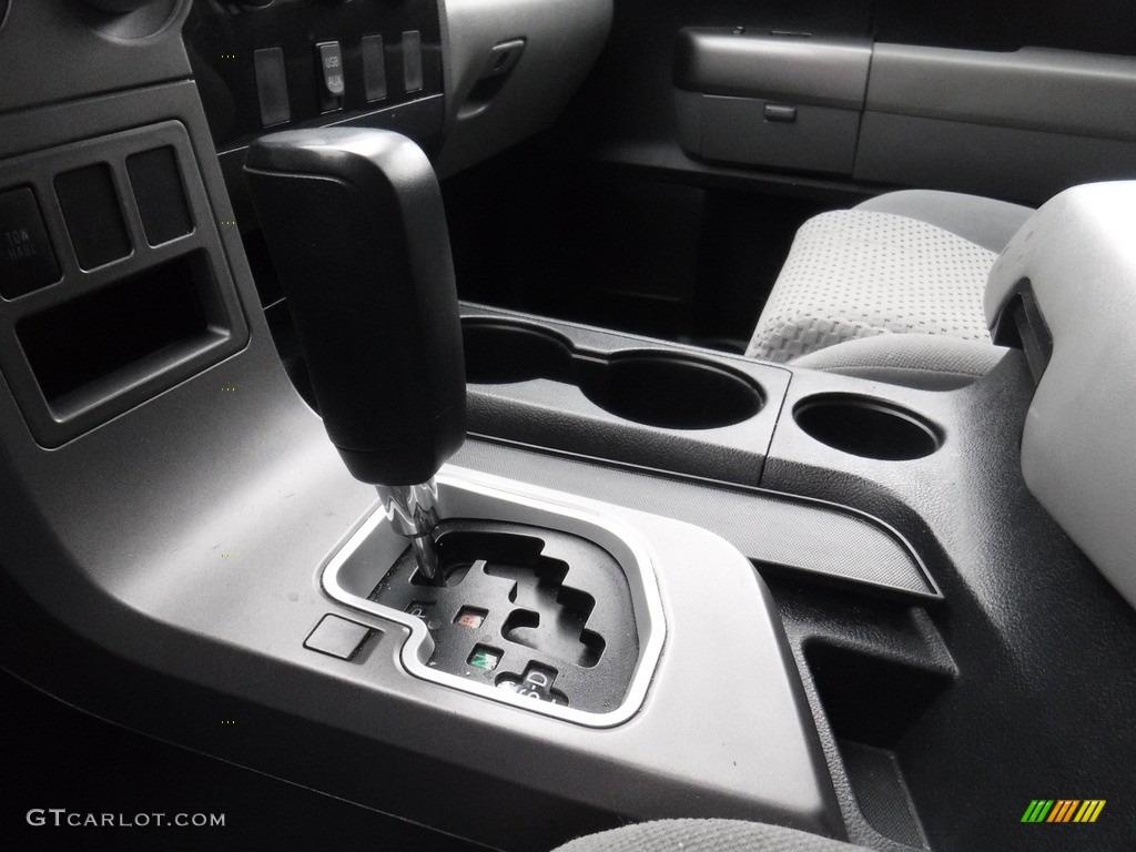 2011 Tundra SR5 Double Cab 4x4 - Super White / Graphite Gray photo #20