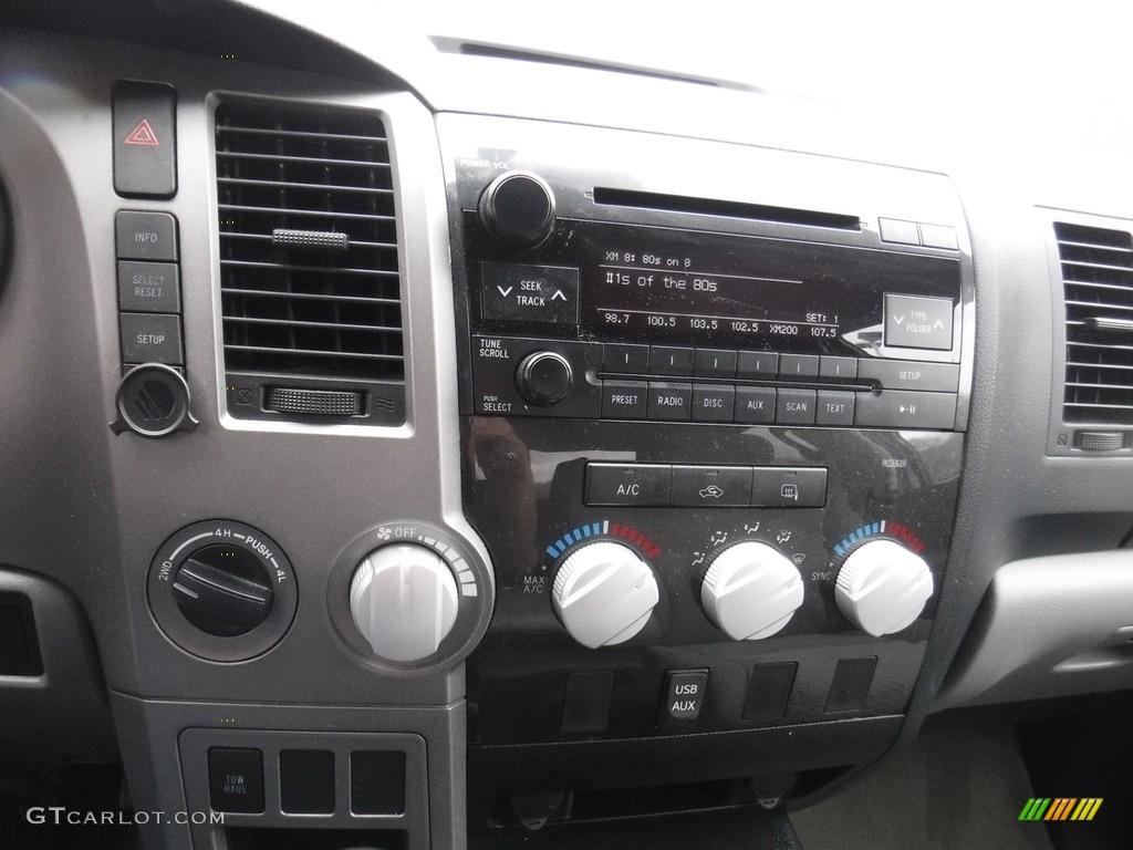2011 Tundra SR5 Double Cab 4x4 - Super White / Graphite Gray photo #21