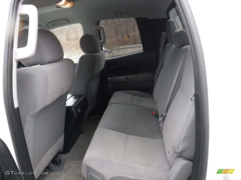 2011 Tundra SR5 Double Cab 4x4 - Super White / Graphite Gray photo #25